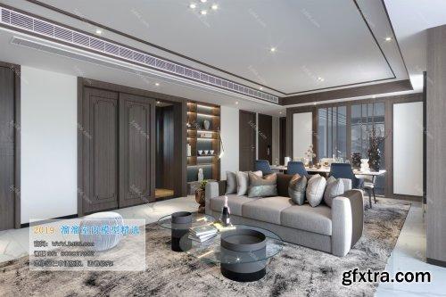 Modern Style Livingroom 43 (2019)