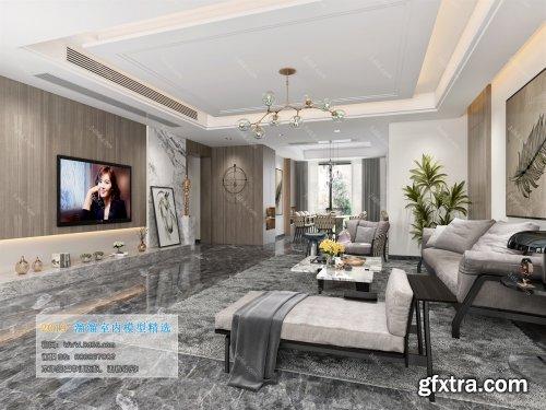 Modern Style Livingroom 45 (2019)