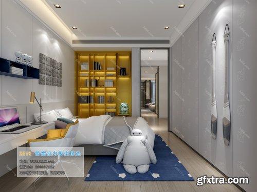 Modern Style Bedroom 60 (2019)