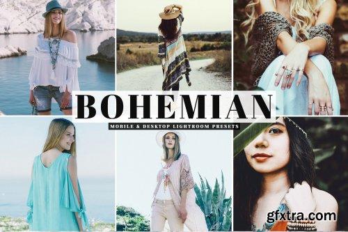 CreativeMarket - Bohemian Pro Lightroom Presets 4032118