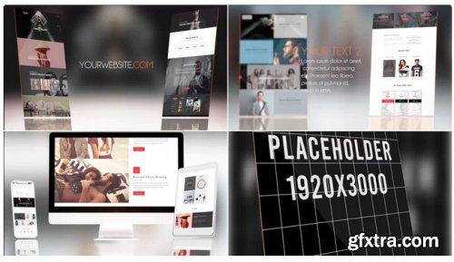 Clean Website Presentation 275994