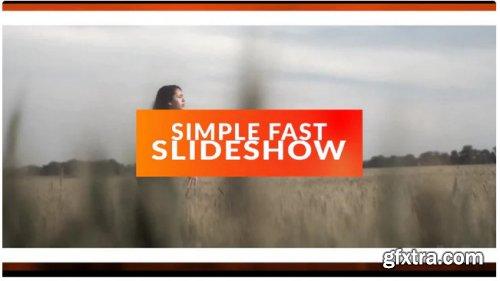 Simple Fast Slideshow - Premiere Pro Templates 273580
