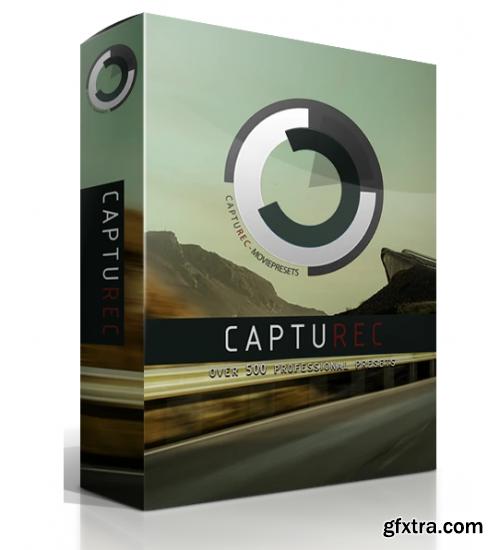 CaptuRec - MegaBundle +500 LUTs (Win/Mac)