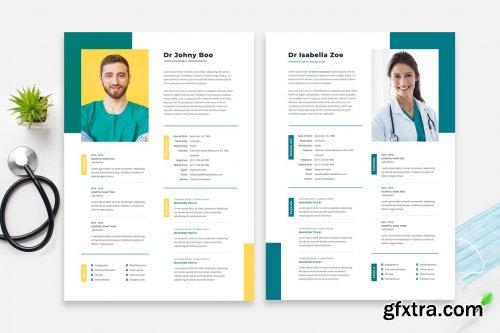 Doctor Resume / Cv Template 15