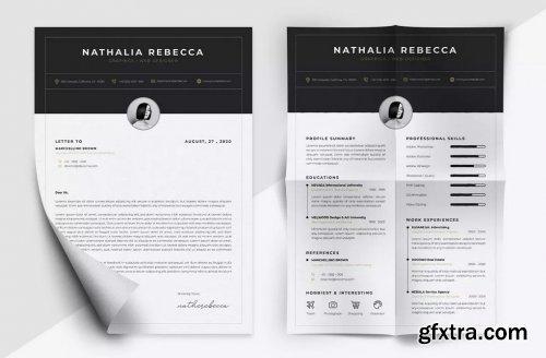 Minimalist CV Resume Vol. 44