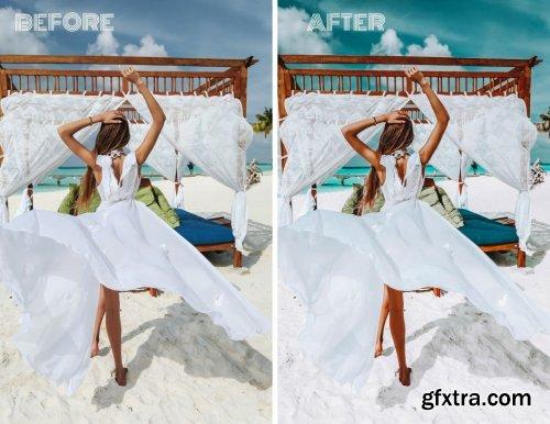 CreativeMarket - Mobile Lightroom Preset DEEP BLUES 4027339