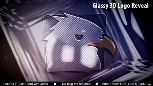 Udemy - Glassy 3D Logo Reveal
