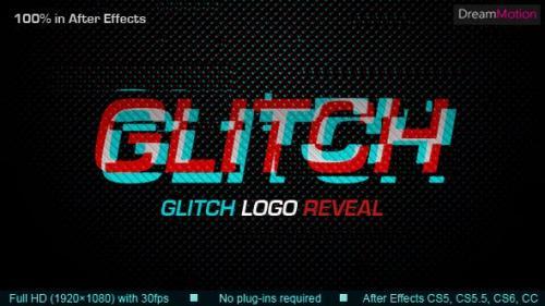 Udemy - Glitch Logo Reveal