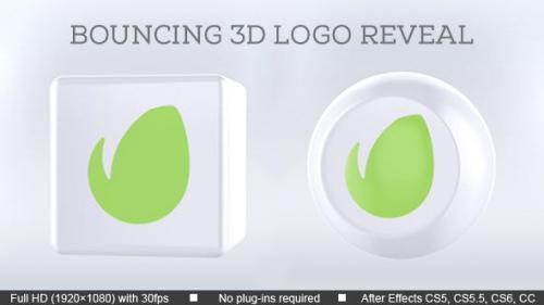 Udemy - Bouncing 3D Logo Reveal