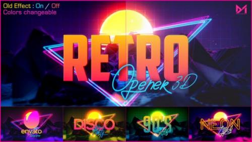 Udemy - Retro Opener 3D