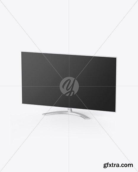 Metallic Monitor Mockup 48159