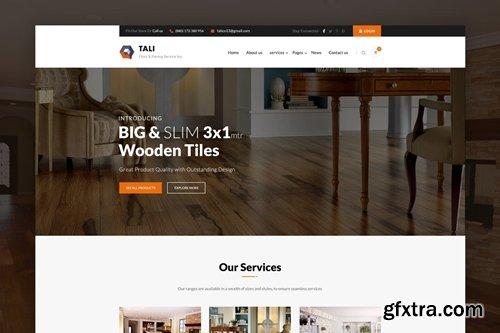 TALIE - Flooring, Paving & Tiling PSD Template
