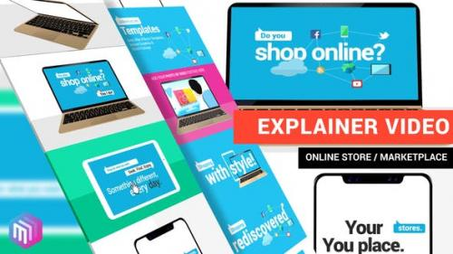 Udemy - Explainer Video | Online Store, Marketplace, Services