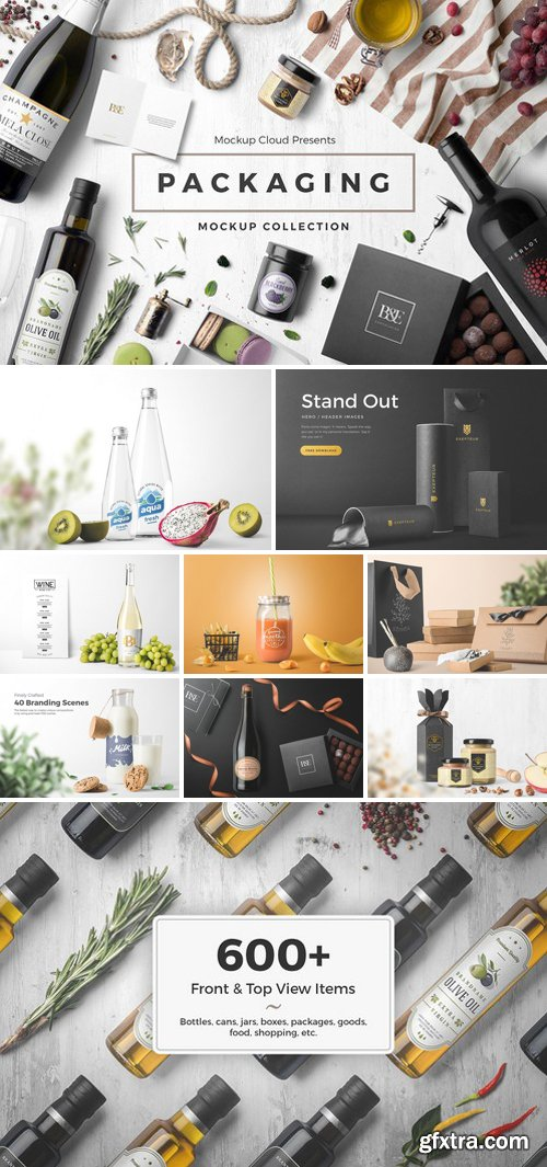 CM - Packaging Mockup Collection 2608490