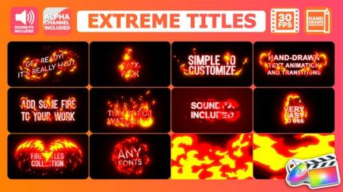 Udemy - Extreme Titles | FCPX