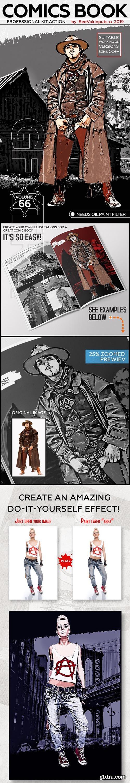 GraphicRiver - Comics Book Kit Photoshop Action 24261296