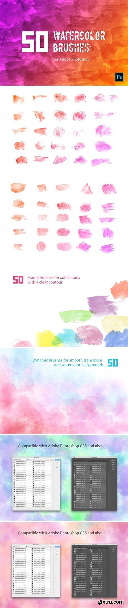 CM - Watercolor Brush Set #1 4067372