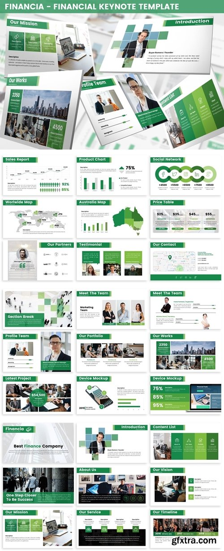 Financia - Financial Keynote Template