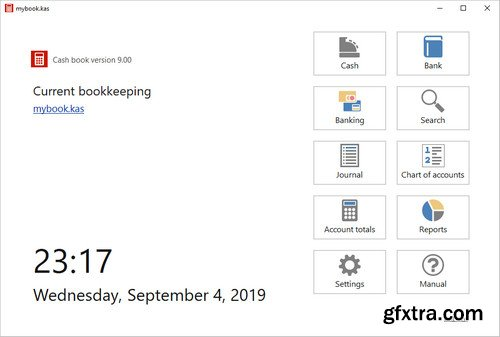 SoftwareNetz Cash Book 9.00 Multilingual