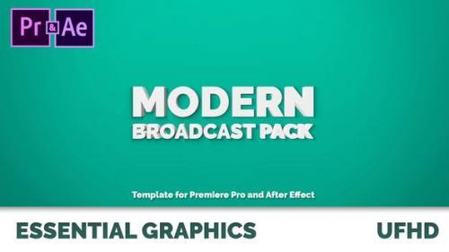 Udemy - Modern Broadcast Pack | Essential Graphics | Mogrt