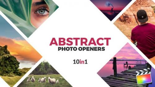 Udemy - Abstract Photo Openers - Logo Reveal