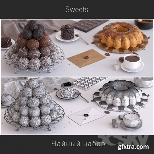 Sweets / Sweets 3d Models