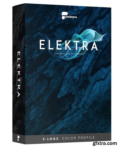 Elektra - Cinematic Color Presets   Sony S-LOG3 Color Profile