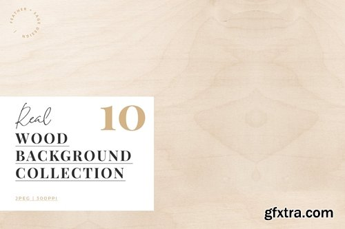 Real Wood Background Collection