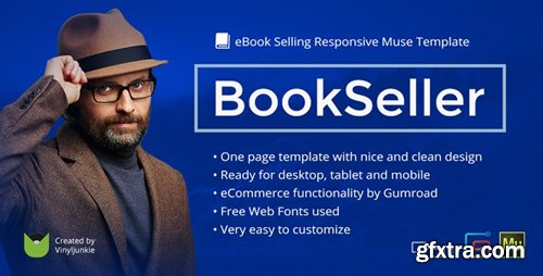 ThemeForest - BookSeller v2.0 - eBook Selling Responsive Template - 9114565