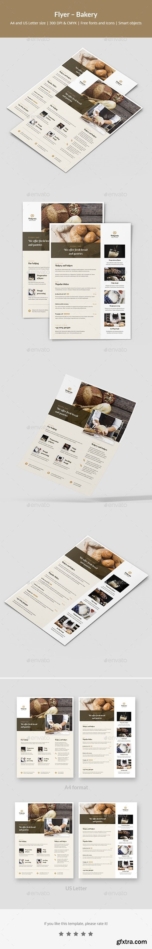 GraphicRiver - Flyer – Bakery 24531926