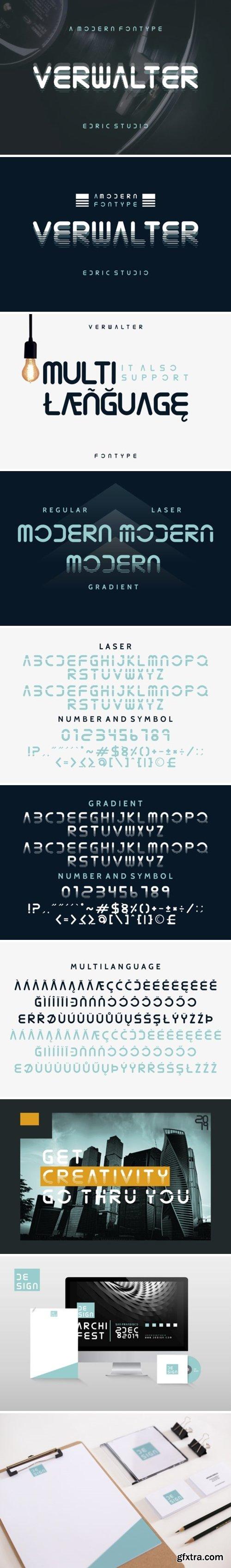 Verwalter Font