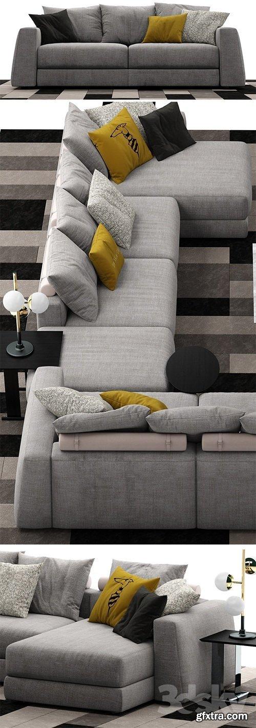 Sofa trussardi Liam Sofa