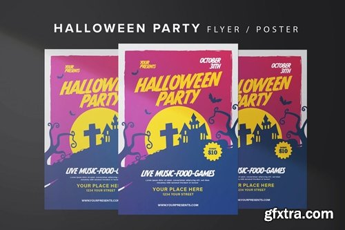Halloween House Flyer