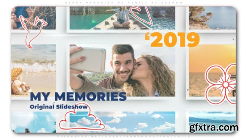VideoHive Happy Memories My Family Slideshow 24194851