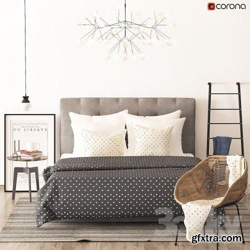 «Richmond» bed from Heatherly design