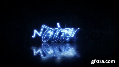 Videohive Electric and Neon Logo Reveal 22870197