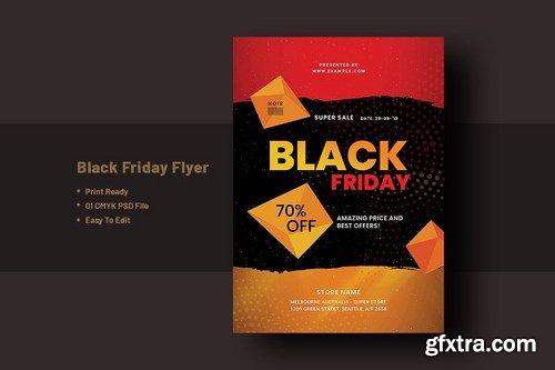 Black Friday Flyer Template V-4