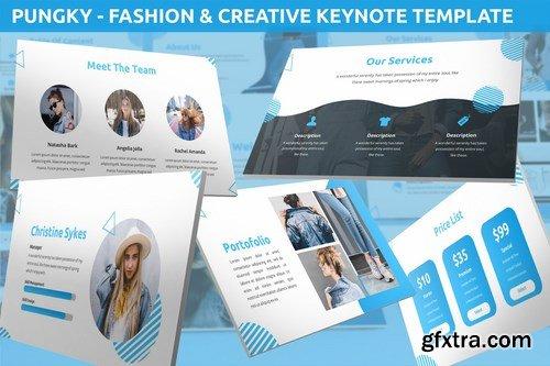 Pungky - Fashion & Creative Keynote Template