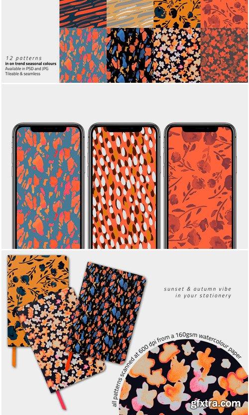 CM - Autumn Inks Pattern Set 4084125