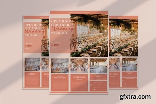 Wedding Package Flyer