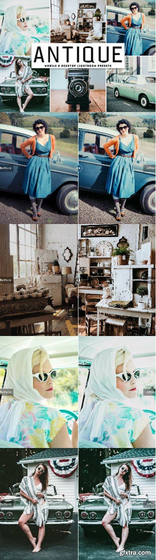 Antique Mobile & Desktop Lightroom Presets