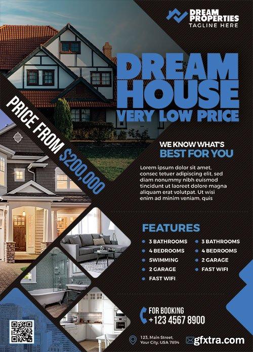 Real Estate - Premium flyer psd template