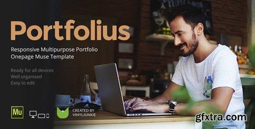 ThemeForest - Portfolius v1.0 - Responsive Multipurpose Portfolio Muse Template - 19176740