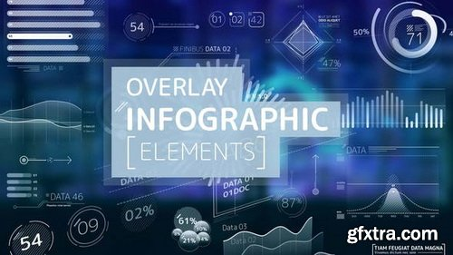 Videohive - Overlay Infographic Elements - 24566996