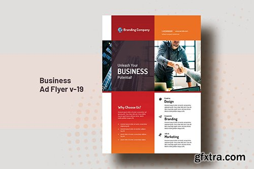 Business AD And Corporate Flyer V-19