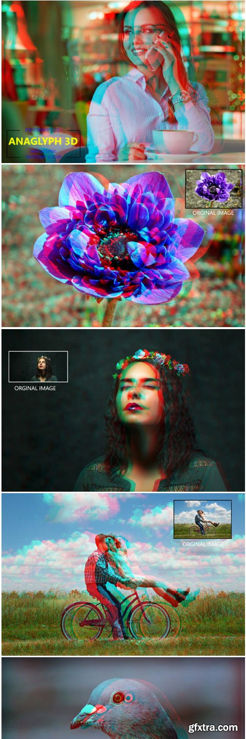 Anaglyph 3D - Photoshop Action 1760822