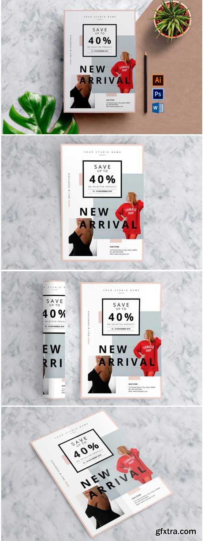 Multipurpose Sale Flyer Template 1761955