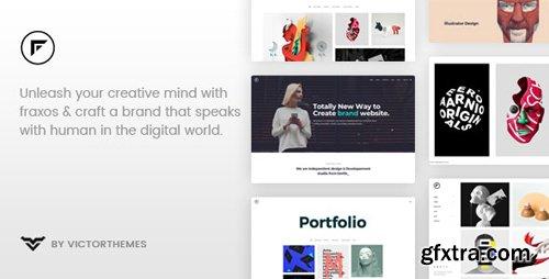 ThemeForest - Fraxos v1.7 - Creative Portfolio WordPress Theme - 22255499