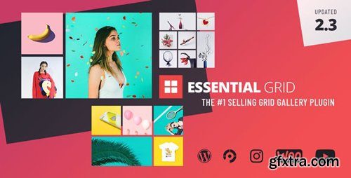 CodeCanyon - Essential Grid v2.3.3 - Gallery WordPress Plugin - 7563340
