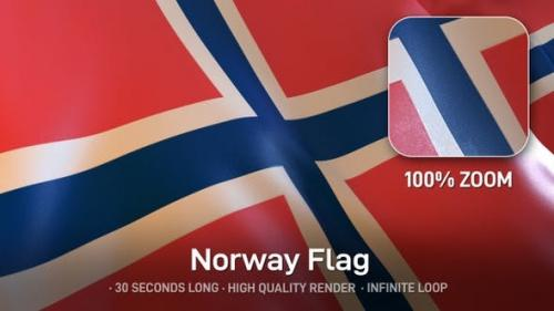 Videohive - Norway Flag - 24593428 » GFxtra